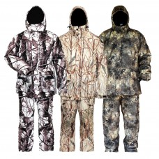 Winter suits for fishing and hunting