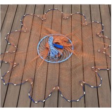 Features fishing casting net
